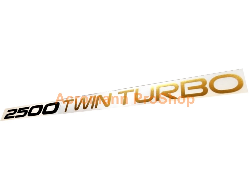 2500 Twin Turbo Toyota Supra JZA70 1JZ GTE Engine Cover Decal